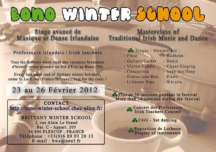 Bono Winter School 2012