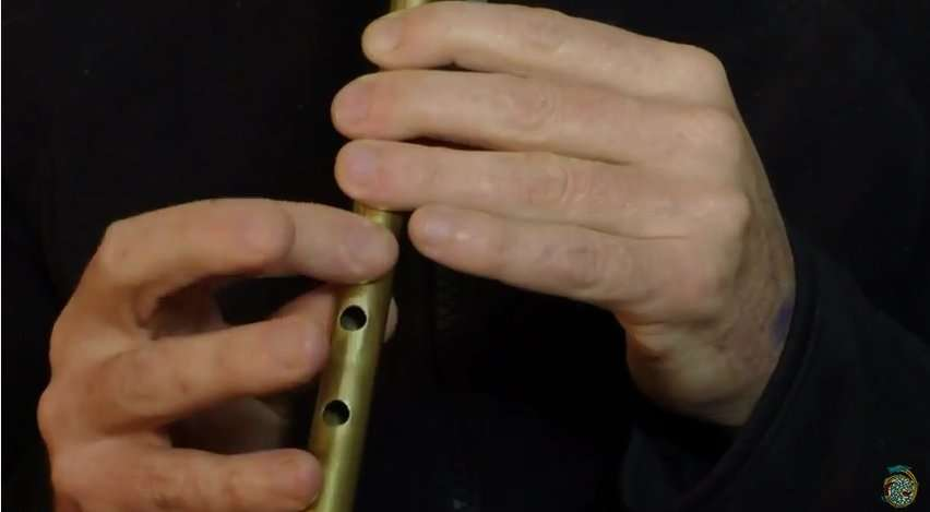 Donegal Reel tin whistle