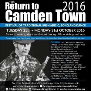 Return to Camden Town GFestival