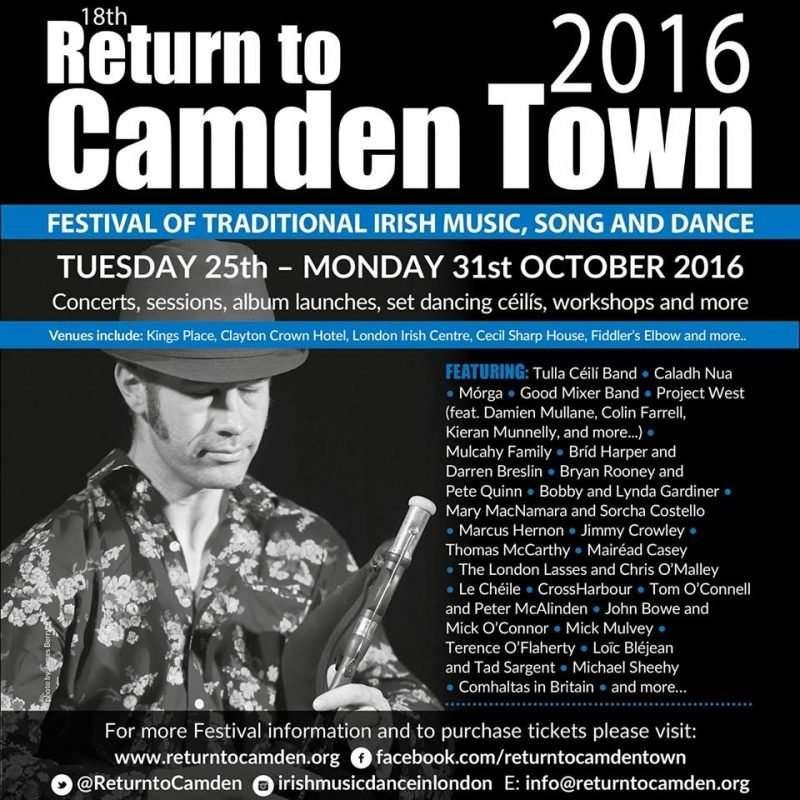 Return to Camden Town GFestival