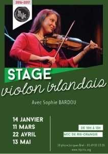 Stage de violon irlandais